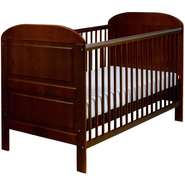buy east coast nursery angelina cot bed cocoa at argos. Black Bedroom Furniture Sets. Home Design Ideas