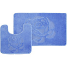 more details on Rose 2 Piece Bath Set - Blue.
