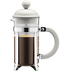 more details on Bodum Caffettiera Coffee Maker 3 Cup - White.
