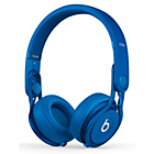 more details on Beats by Dre Colr Mixr On-Ear Headphones - Blue.