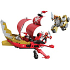 more details on Mega Bloks PRSMF Sky Ship Showdown.