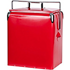 more details on Coastal Metal Coolbox - Red.