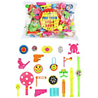 more details on 100 Piece Bag of Toy Party Favours.