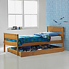 more details on Faris Pine Single Storage Bed Frame with Bibby Mattress.