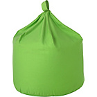 more details on ColourMatch Large Cotton Beanbag - Apple Green.