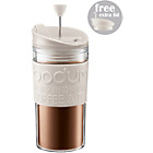 more details on Bodum Travel Press Set Coffee Maker - White.