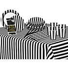 more details on Decorative Stripes Party Kit - Midnight Black.