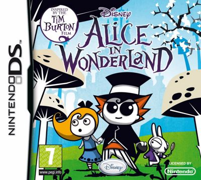 Alice in Wonderland DS Game