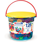 more details on Bristle Blocks Jungle Adventure Storage Bucket - 128 Pieces.