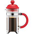 more details on Bodum Caffettiera Coffee Maker 3 Cup - Red.