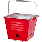 more details on Coastal Square Portable BBQ - Red.