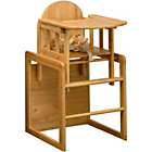 more details on East Coast Nursery Combination Highchair - Natural.