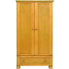 more details on East Coast Nursery Montreal Double Wardrobe - Antique.