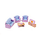 more details on Tidlo Wooden Dolls House - Living Room Furniture.