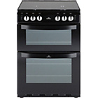 more details on New World NW601GTCL 60cm Gas Cooker - Black/Ins/Rec/Del.