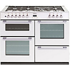 more details on Belling DB4110DF Double Dual Fuel Range Cooker - White.