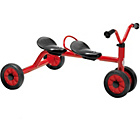 more details on Winther Mini Viking Push Bike for Two - Red.