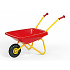 more details on Metal and Plastic Wheelbarrow Toy - Red and Yellow.