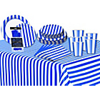 more details on Decorative Stripes Party Kit - Royal Blue.