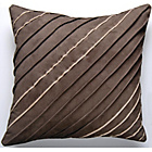 more details on Catherine Lansfield Simplicity Cushion 60x60cm - Chocolate.