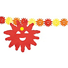 more details on Paper Sun 4 Metre Garland - Pack of 2.