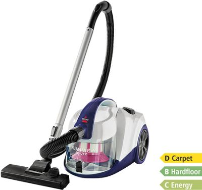 Bissell Cleanview Power Bagless Cylinder Vacuum Cleaner