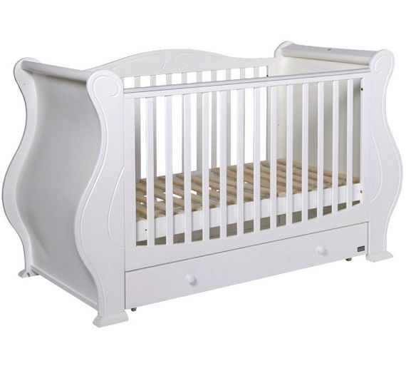 Buy Tutti Bambini Louis Cot Bed White At Argos Co Uk