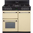 more details on Belling Classic 90DFT Double Dual Fuel Range Cooker - Cream.