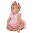 more details on Disney Baby Minnie Mouse Pink Tutu and Headband 3-6 months