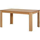 more details on Campbell Oak Effect 120cm Dining Table.