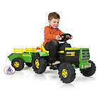 more details on Tractor and Trailer with Light and Sounds 6V.