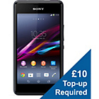 more details on Vodafone Sony Xperia E1 Mobile Phone - Black and White.