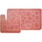 more details on Circles 2 Piece Bath Set - Pink.