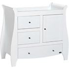 more details on Tutti Bambini Lucas Chest Changer - White.