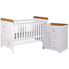 more details on Tutti Bambini 3 Bears 2 Piece Room Set - Beech and White.