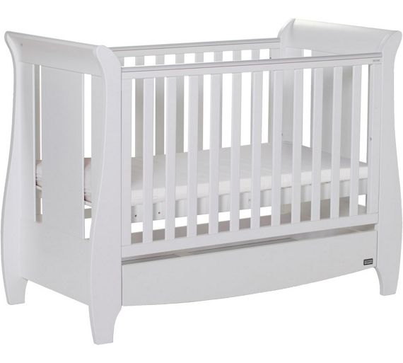 buy tutti bambini katie cot bed white at. Black Bedroom Furniture Sets. Home Design Ideas