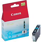 more details on Canon CLI8 Standard Photo Ink Cartridge - Cyan.