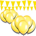 more details on Giant Bunting and Balloon Set - Yellow.