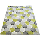 more details on Monte Carlo Pixel Rug 120x170cm - Green.