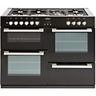 more details on Belling DB4110DF Double Dual Fuel Range Cooker - Black.