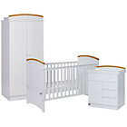 more details on Tutti Bambini Barcelona 3 Piece Room Set - Beech and White.