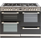 more details on Belling DB4110G Gas Range Cooker - Stainless Steel.