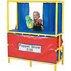 more details on Puppet Stage and Cubbies.