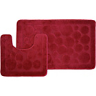 more details on Circles 2 Piece Bath Set - Red.