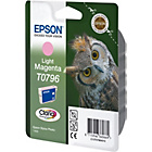 more details on Epson T0796 Owl Standard Ink Cartridge - Light Magenta.