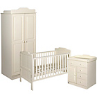 more details on Tutti Bambini Alexia 3 Piece Room Set - Vanilla.