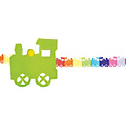 more details on Paper Train 4 Metre Garland - Pack of 2.