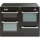 more details on Belling DB4110EI Induction Electric Range Cooker - Black.