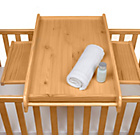 more details on Tutti Bambini Cot Top Changer - Oak.
