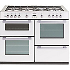 more details on Belling DB4110G Gas Range Cooker - White/Install.